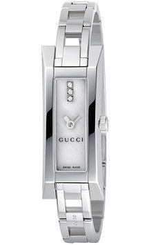 Sleek silver trendy watches