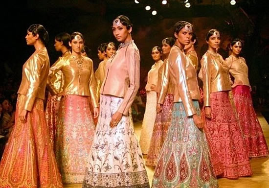 J J Valaya's bridal collection