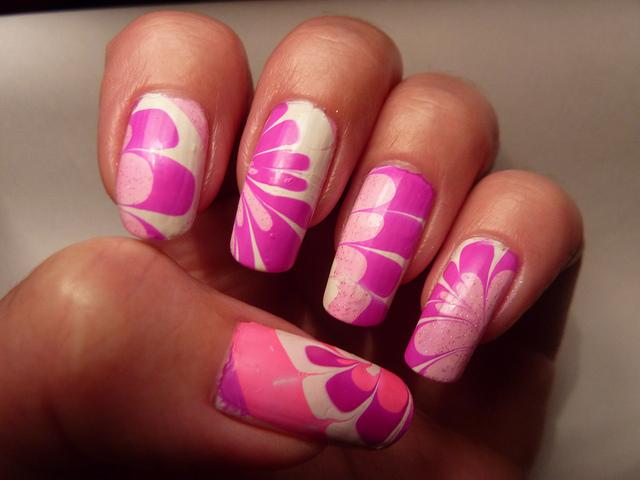 More marble nail art designs