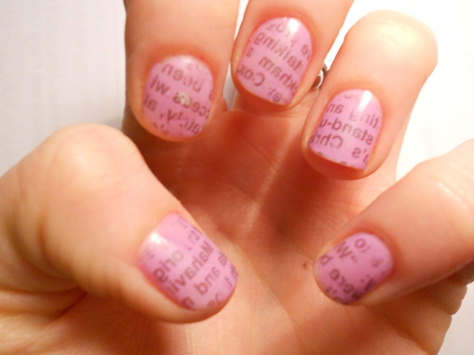 Creative nail art