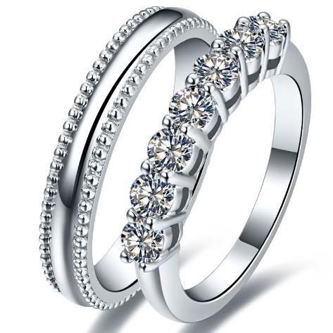 Diamond couple rings