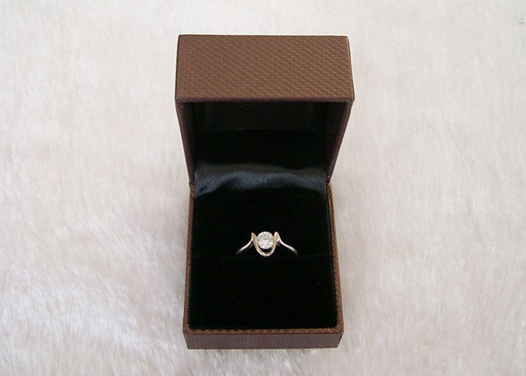 RIng care: Place it in a box