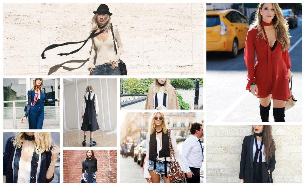 Skinny scarf inspiration