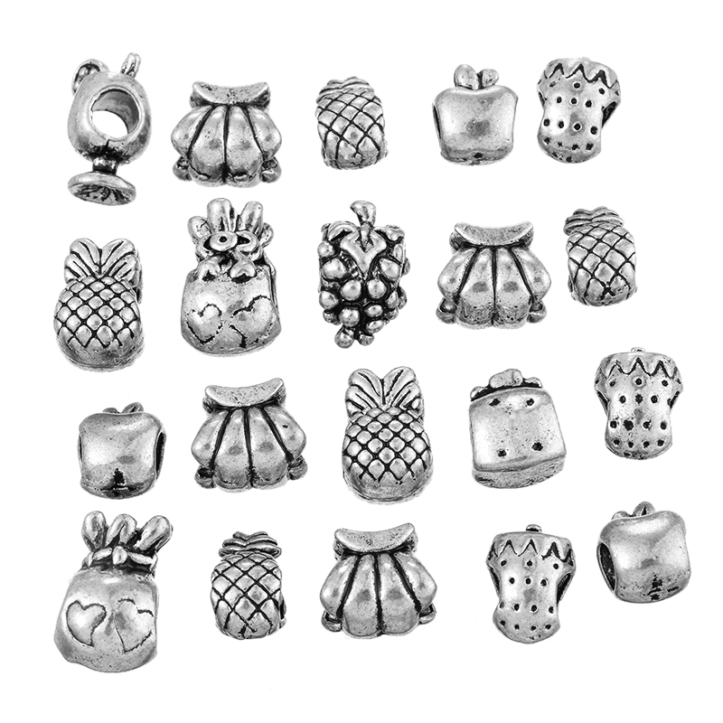 Different fruit pendents
