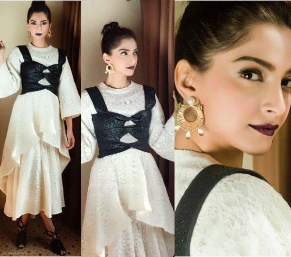 Sonam Kapoor's look