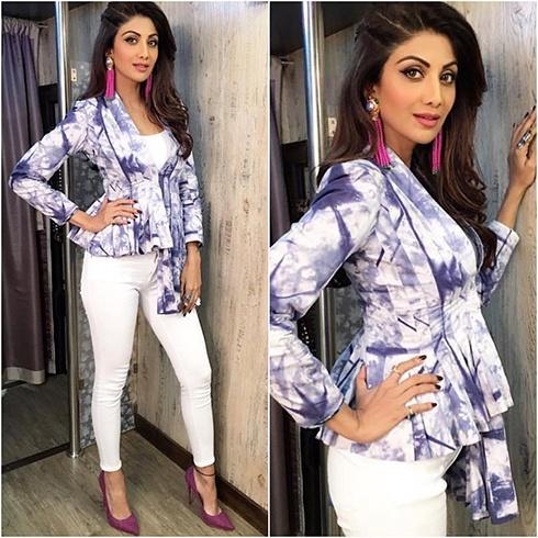 Shilpa Shetty's look