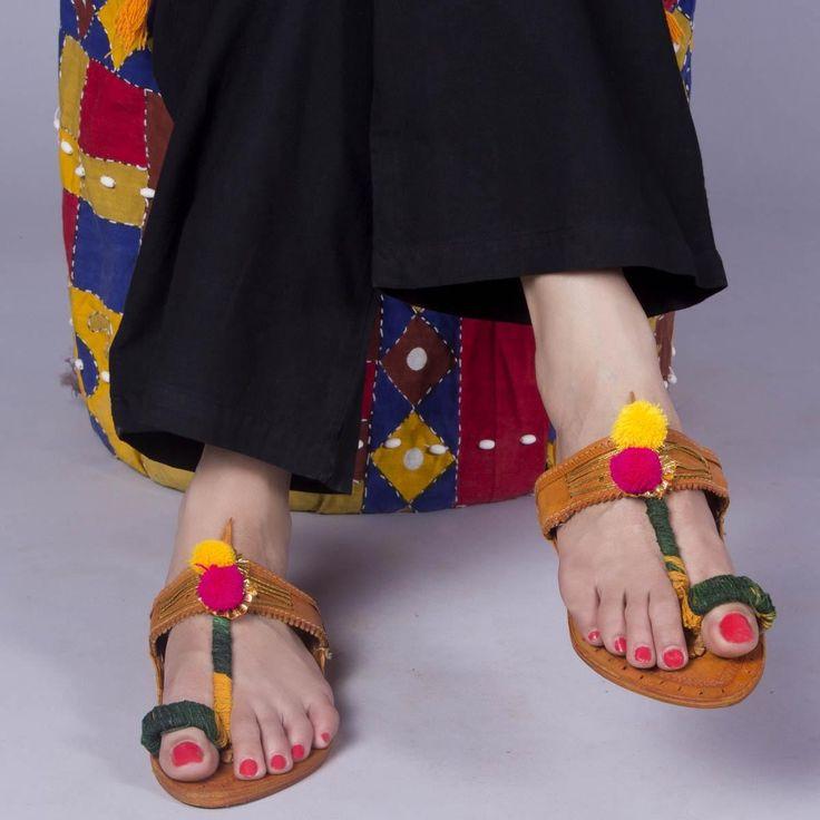 Make a style statement with Kholapuri chappals