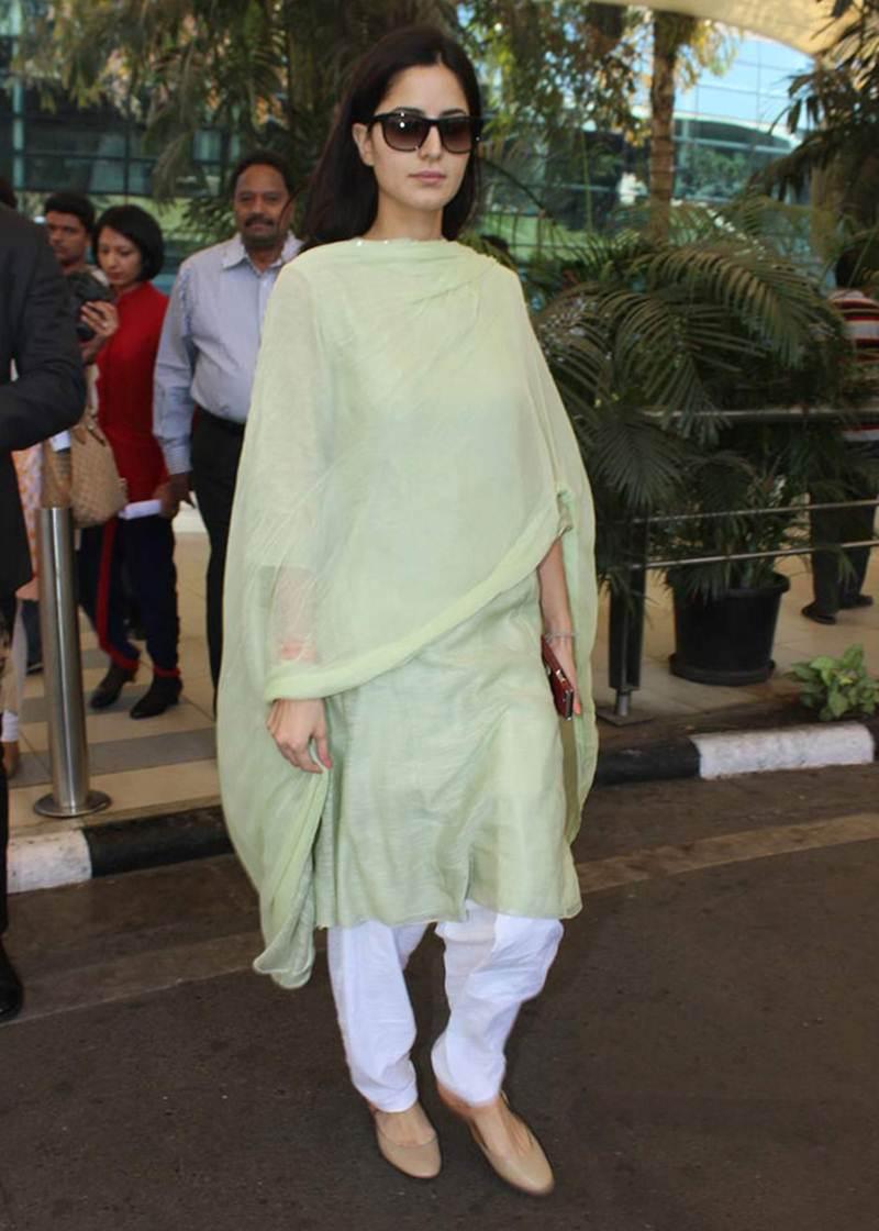 Bollywood Actress Katrina Kaif's Casual Look.