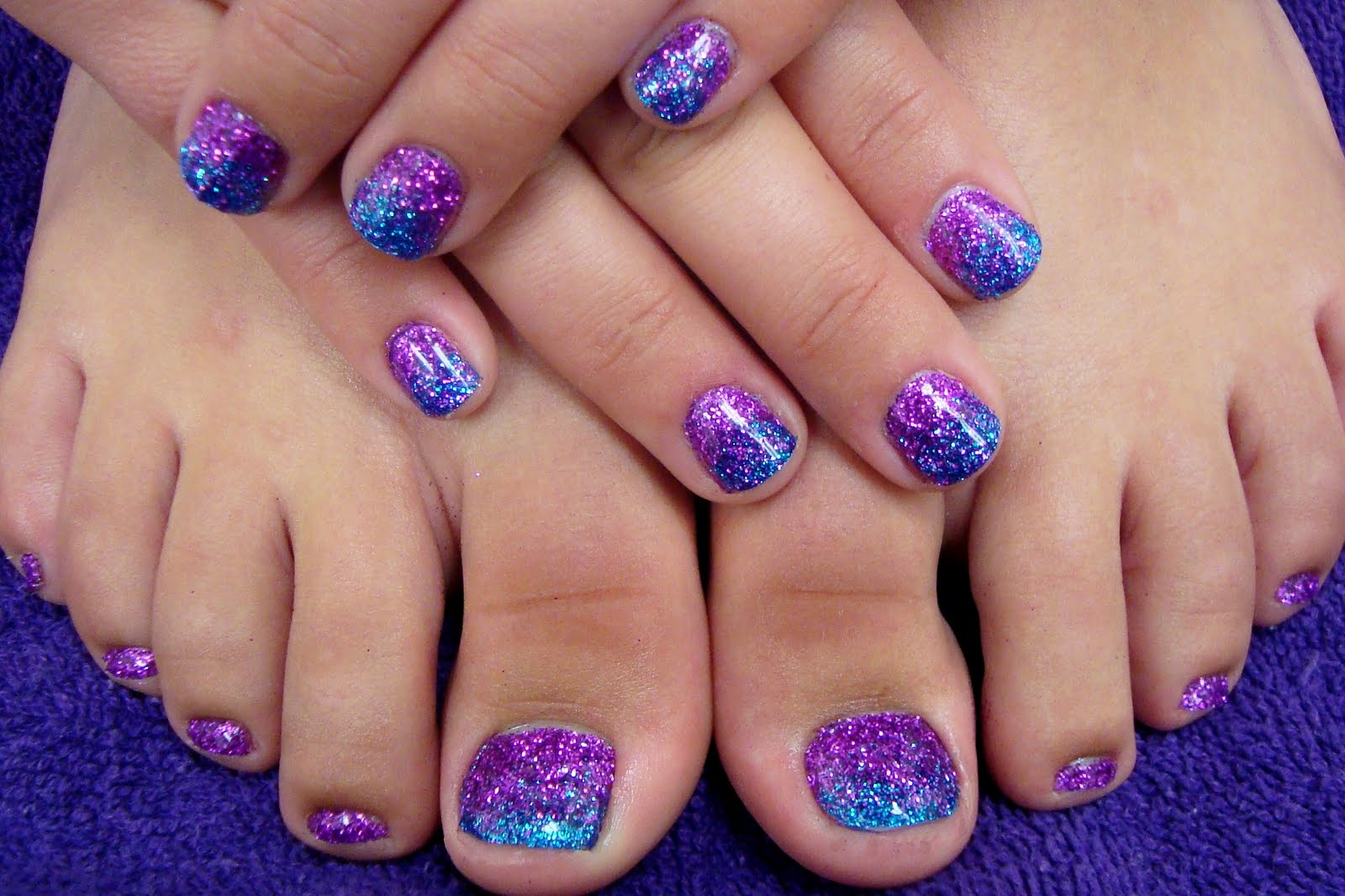 Nail Art done by professional.