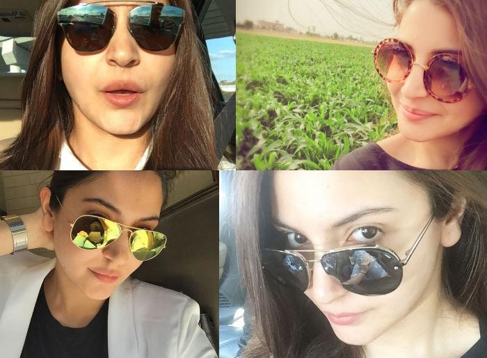 Anushka Sharma in Sunglasses.