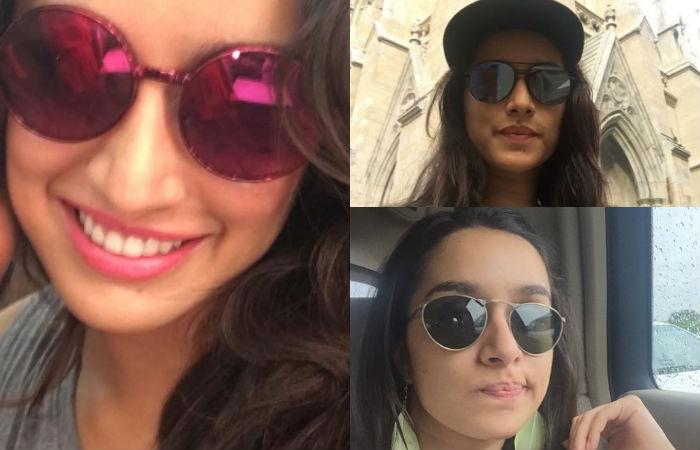 Shraddha Kapoor in Sunglasses.
