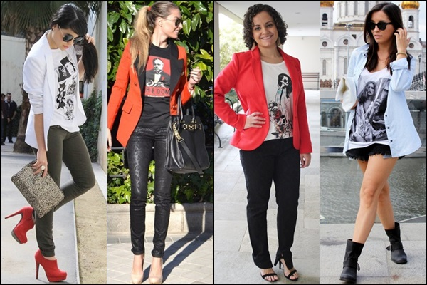 Different Style and Colors of Women Blazer.