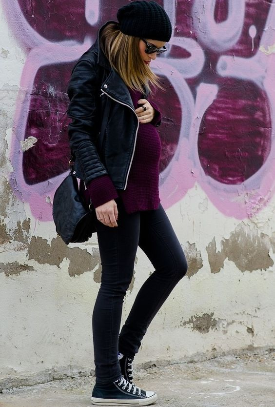 The model in jacket.