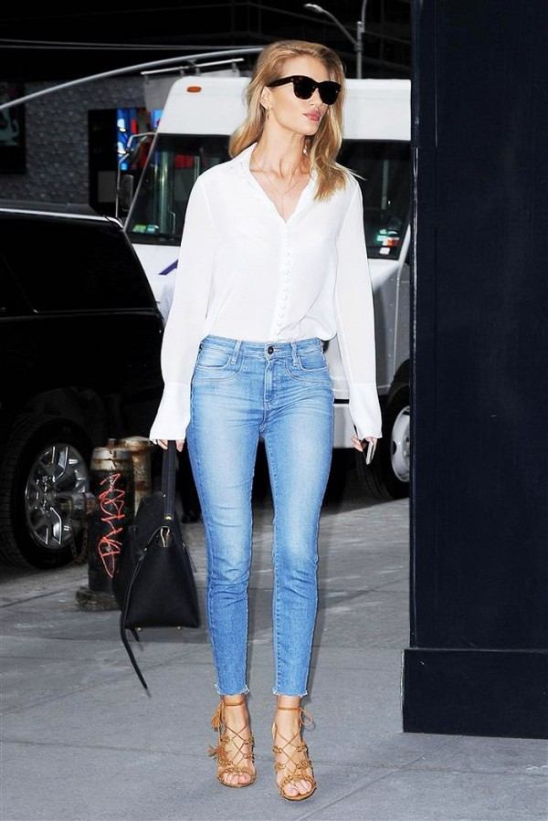 Shoes Celebrities Wear With Skinny Jeans.