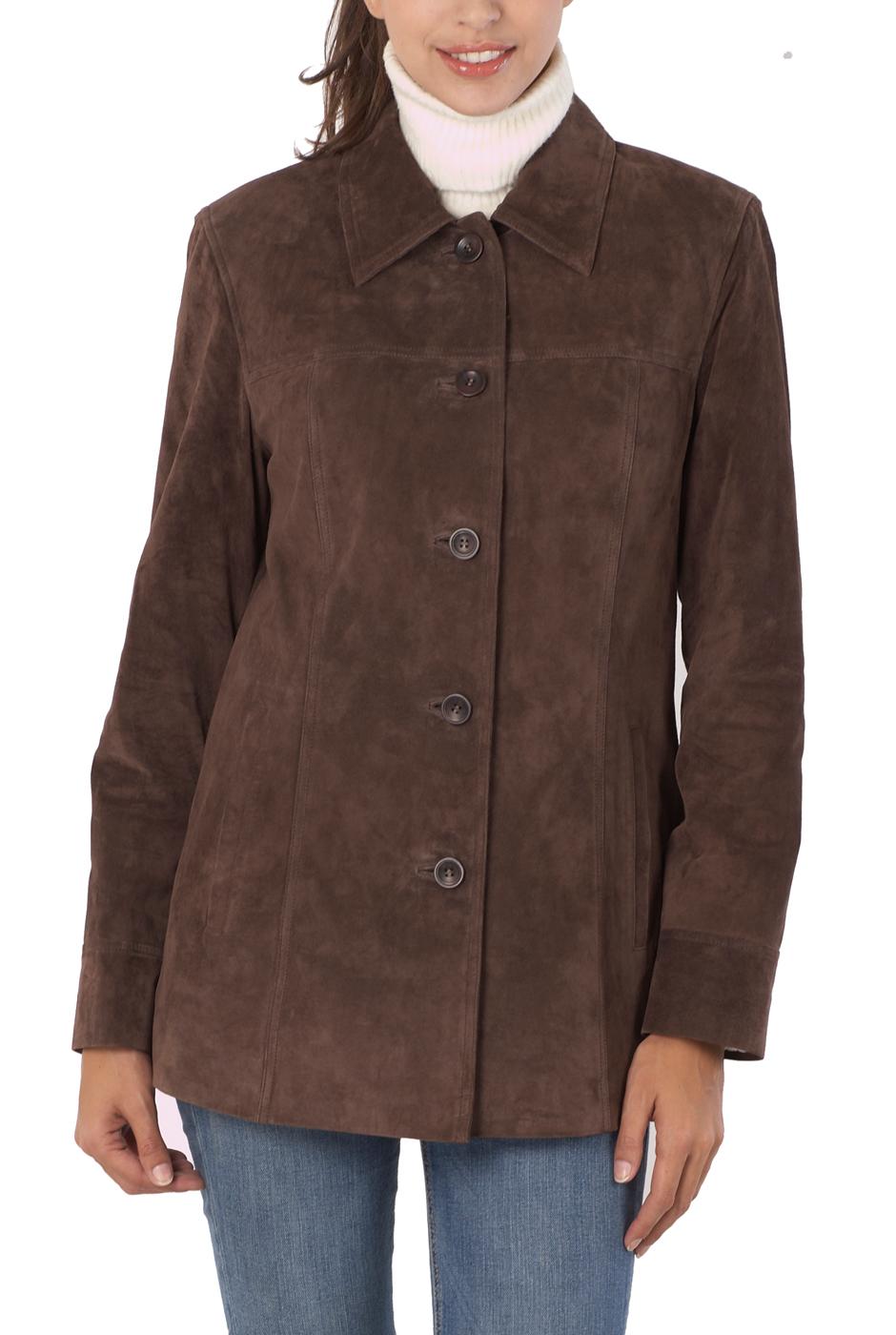 The model in car coat