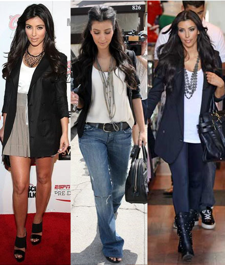 here are women out tThere that love their blazers.
