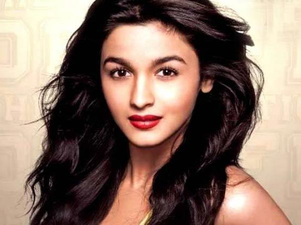 Bollywood Actress Alia Bhatt in the movie Student of the Year.