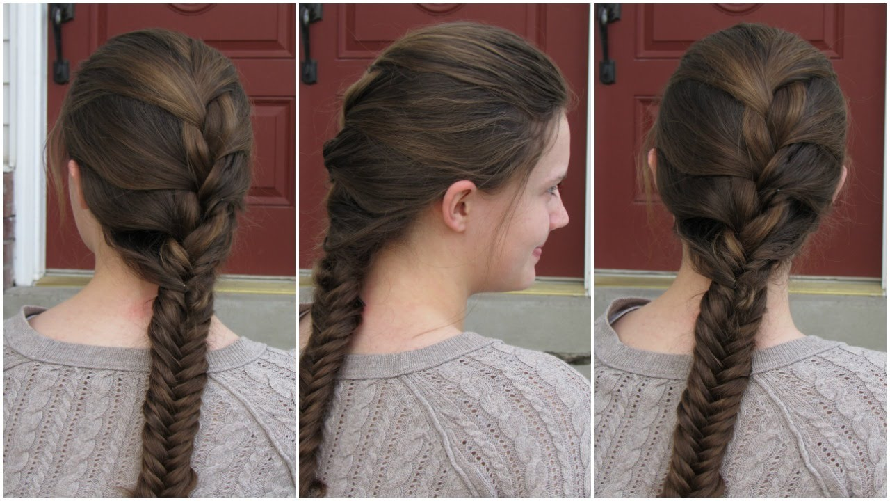 The model with Cool French Braid.