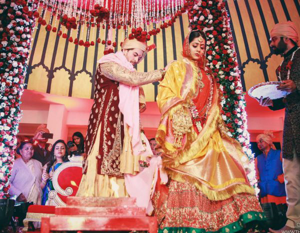 Taking vows