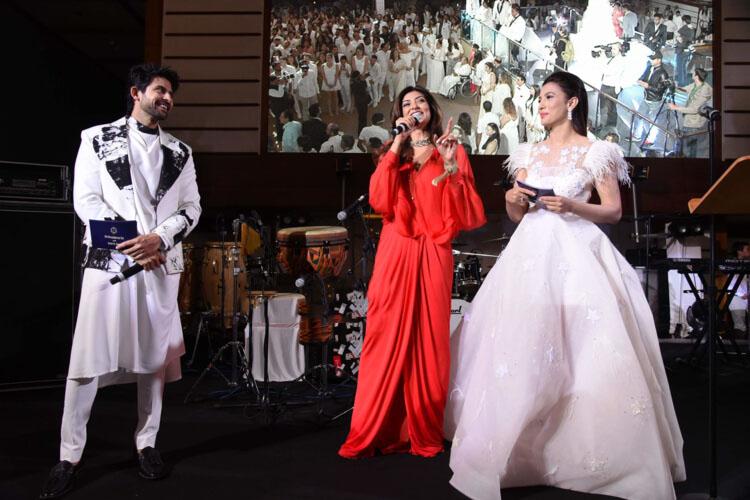 Sushmita at the wedding!