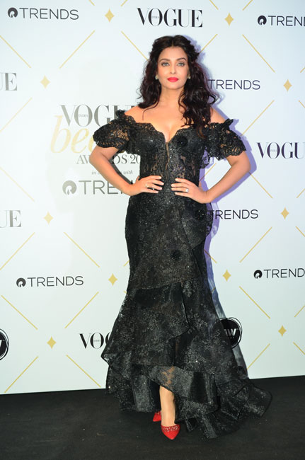 Ash at Vogue Beauty Awards